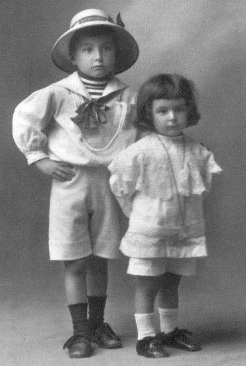 Os dous irmáns. Xaquín Lorenzo Fernández e Xurxo Lorenzo Fernández 10 de agosto de 1912