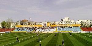 Stadionul Oțelul - Image: Otelul Stadium