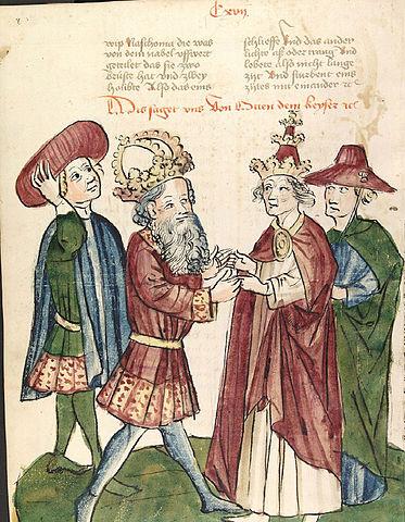 Otton I spotyka Jana XII