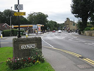 Oulton, West Yorkshire Village in West Yorkshire, England