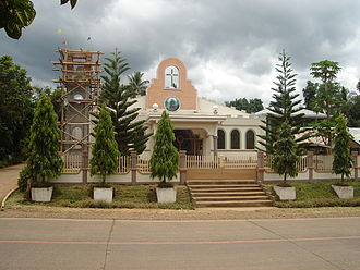 Lantapan, Bukidnon - The main religion of the Visayas and Luzon migrants is Roman Catholicism as evident in this chapel located in Poblacion, Lantapan.