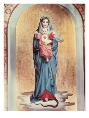 Our Lady of the Sacred Heart by Antonio Ciseri.