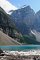 Outfall of Moraine Lake (266359730).jpg
