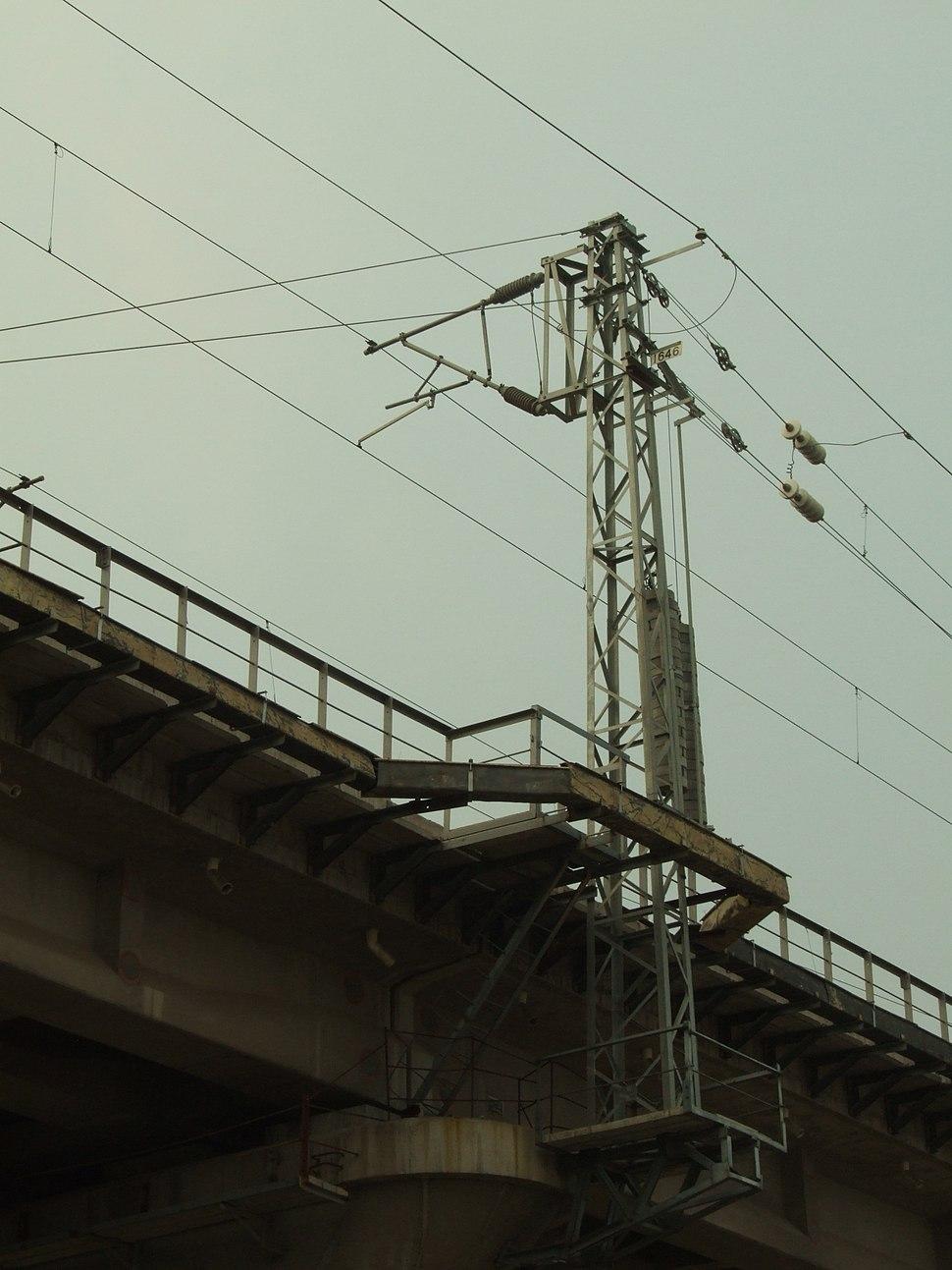 Overhead-lines-railway