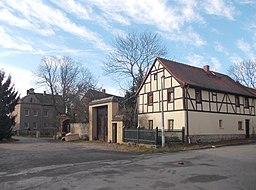 Alte Dorfstraße in Taucha