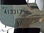 P-51 Mustang 413317 tail at RAF Museum London Flickr 4607063165.jpg