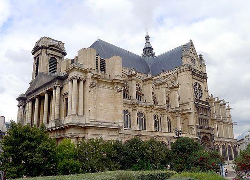 Balade quartier montorgueil les halles un jour de plus for Architecte st eustache
