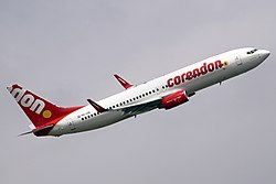Boeing 737-800 der Corendon Dutch Airlines