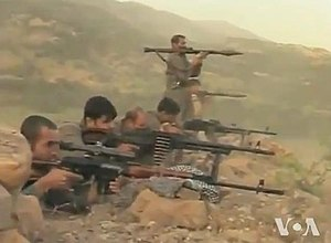 Kurdish separatism in Iran - PJAK fighters in 2012