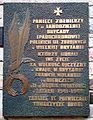 PL Warsaw St. Martin Church 1st Independent Parachute Brigade plaque.JPG