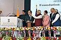 PM & French President inaugurate International Solar Alliance Secretariat in Gurgaon (24810038415).jpg