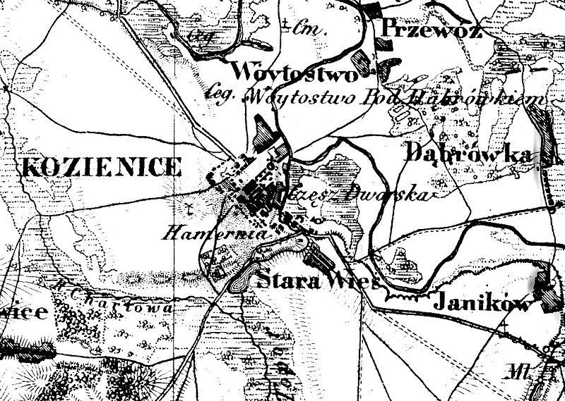 Plik:POL Kozienice old map.jpg