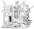 PSM V51 D392 Tartars distilling kumis.png