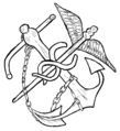 PSM V82 D379 Unidentified naval medical insignia.png