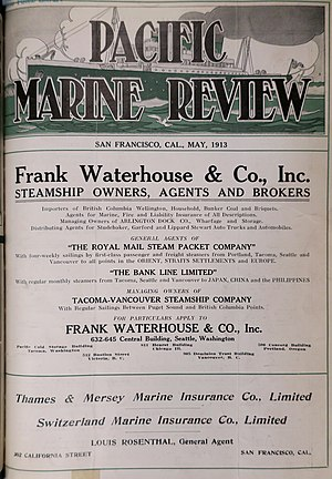 Pacific Marine Review - Image: Pacific Marine Review Cover May 1913