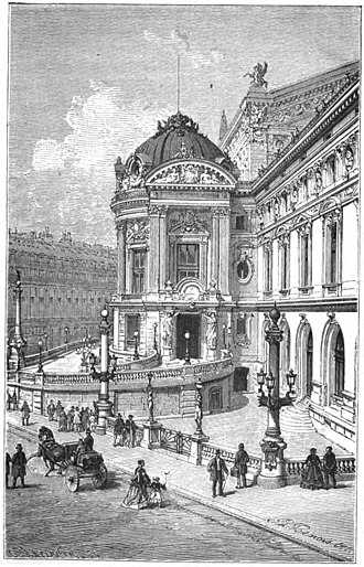 Bibliothèque-Musée de l'Opéra National de Paris - The Emperor's Pavilion of the Palais Garnier, site of the Bibliothèque de l'Opéra (1875)