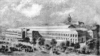 Exposition Universelle (1855) - Palais de l'industrie