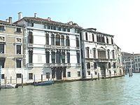 Palazzo Mocenigo Casa Vecchia e palazzo Contarini dalle Figure.jpg
