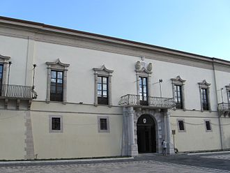 Melfi - The Bishopric Palace.