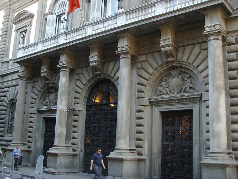Palazzo della banca d'italia (firenze) - Wikipedia Creative Commons