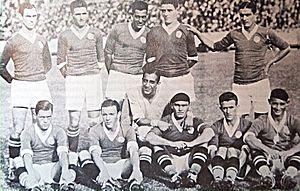 Campeonato Brasileiro Série A - Palestra Itália's 1933 squad were the first winners of Torneio Rio-São Paulo.