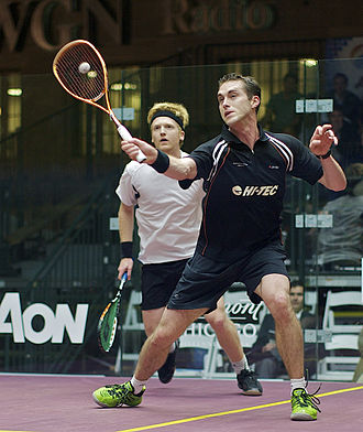 Tom Richards (squash player) - Image: Palmer & Richards