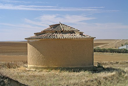 Traditional dovecote in Tierra de Campos