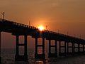 Pamban bridge at sunset.jpeg