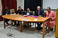 Panel Discussion - Collaboration with Academic Institutes for the Growth of Wikimedia Projects in Indian Languages - Bengali Wikipedia 10th Anniversary Celebration - Jadavpur University - Kolkata 2015-01-10 3374.JPG
