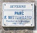 Panneau du Parc François-Mitterrand de Seyssins.jpg