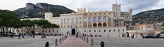 Monaco City - Image: Panorama schloss monaco