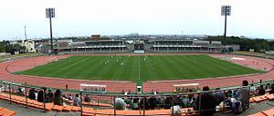 Panoramic view of Ichihararyokuchi Sports Park Seaside Stadium.jpg