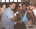 Paolo Tassetto con Tony Pearson, 23 settembre 1990.jpg