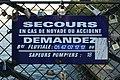 Paris, pont de l'Archevêché, plaque.jpg