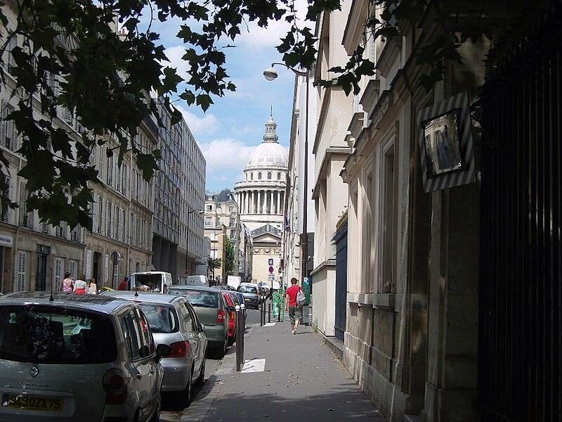 Fichier: Paris 5e arrondissement Ulm rue.jpg