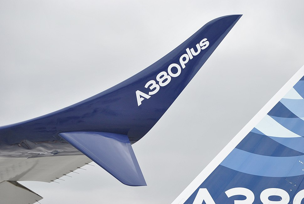 Paris Air Show 2017 Airbus A380plus winglet