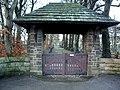 Parish Church of St James, Altham, Lychgate - geograph.org.uk - 660494.jpg