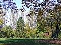 Park in Gärtringen bei der Villa Schwalbenhof - Erich Kiefer (1945-1982, Fabrik für lufttechnische Anlagen) baut 1954 die Villa Schwalbenhof inklusive Park - panoramio.jpg