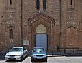 Part inferior de la façana de l'església del Crist de la Providència, València.JPG