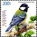 Parus major 2011 Armenian stamp.jpg