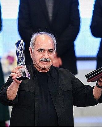Parviz Parastui - Image: Parviz Parastui in Fajr Film Festival