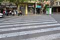 Pas de zebra a l'avinguda de l'Oest, València.JPG