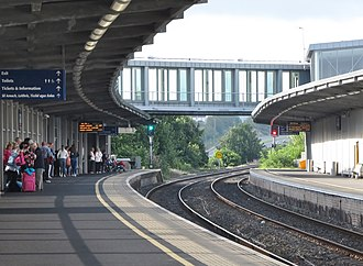 Newry railway station - Newry station in August 2016