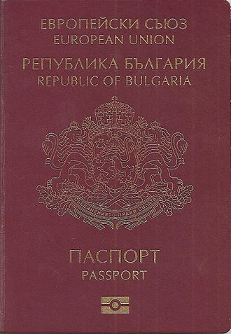 Citizenship of the European Union - Bulgarian passport