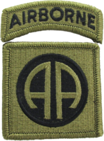 Patch of the 82nd Airborne Division (Scorpion W2).png