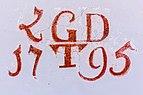 Paternion Kreuzen Kreuzwegkapelle hl. Johannes Apsis-Wand Schrift 06042018 2894.jpg