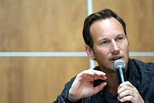 Patrick Wilson (american Actor) Wilson talking at the