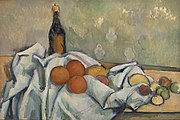 Paul Cézanne - Bottle and Fruits (Bouteille et fruits) - BF7 - Barnes Foundation.jpg