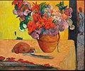 Paul Gauguin Fleurs dans un vase.JPG