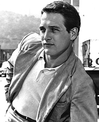 Paul Newman - Newman in his first film, The Silver Chalice (1954)